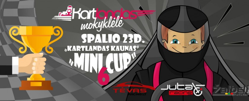 """Vaikų kartingo varžybos """"Kartlandas Mini CUP"""""""