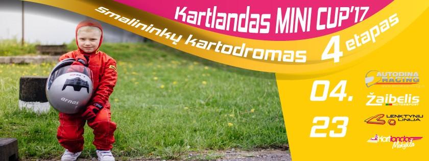 Kartlandas Mini CUP 4 etapas