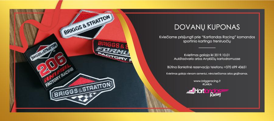 Kartlandas Racing kuponas