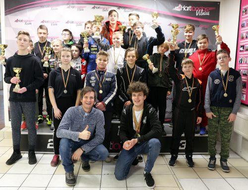 "Vilniuje surengtas trečiasis ""Kartlandas MINI CUP "" turnyro etapas"